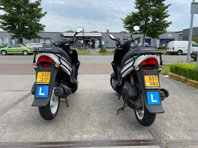 Les scooter rijbewijs AM Juk